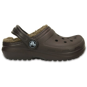 Crocs Classic Lined - Sandales Enfant - marron